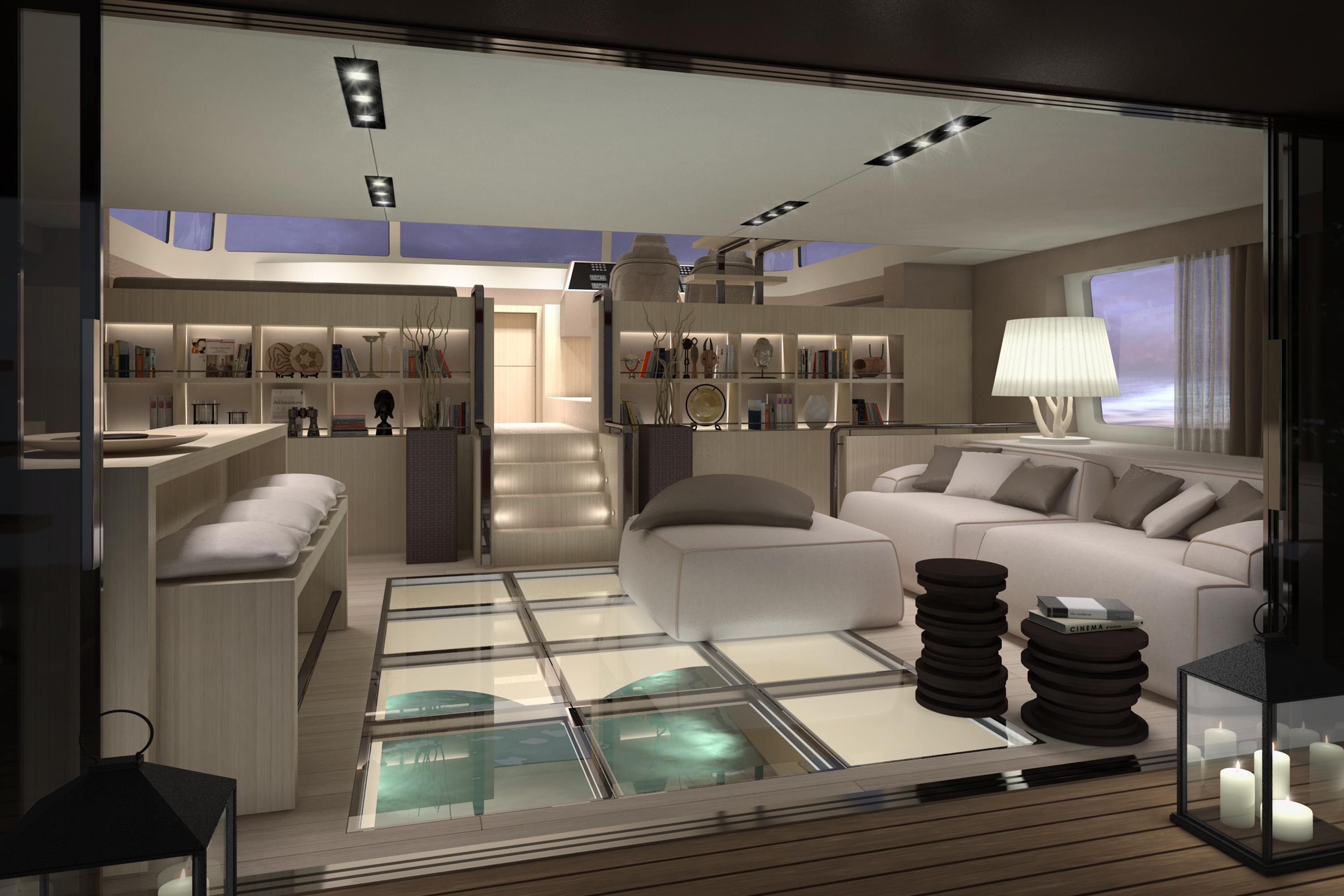 christian grande introduces picchio boat a new concept. Black Bedroom Furniture Sets. Home Design Ideas