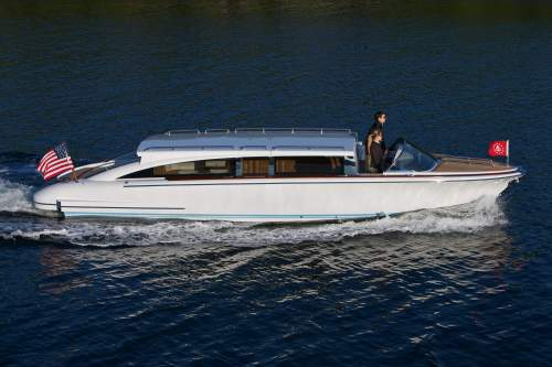 Hodgdon's limousine tender, designed by