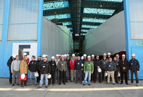 2 visita capitani in cantiere 13 YM